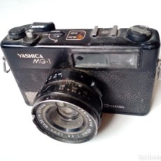 Cámara de fotos: (PARA PIEZAS) YASHICA MG-1 ELECTRO (CÁMARA TELEMÉTRICA / RANGEFINDER) - NO FUNCIONA - 35MM 135. Lote 226095860