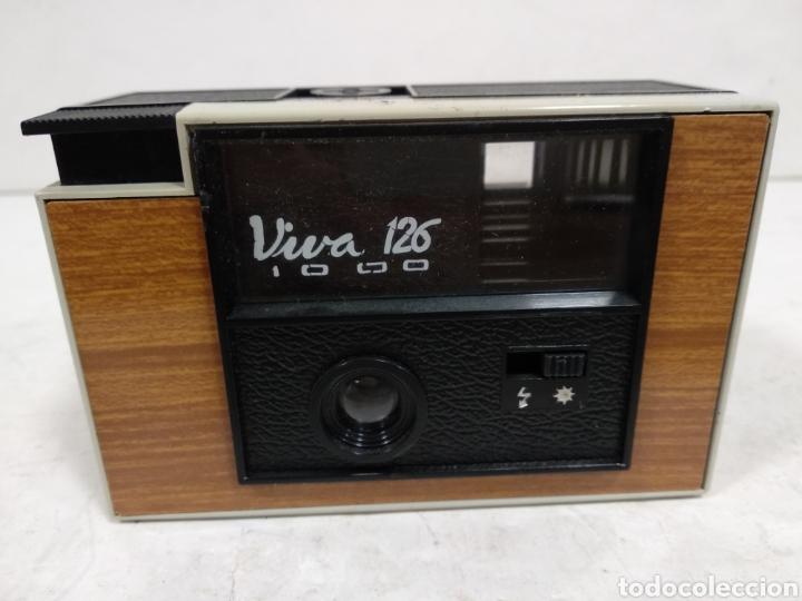 VINTAGE.VIVA 126 1000.AÑO 1972.RARA (Cámaras Fotográficas - Clásicas (no réflex))