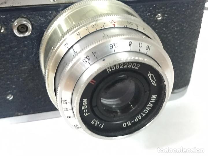 Cámara de fotos: Fantástica cámara Fed 2 con funda original de piel. - Foto 2 - 226109923