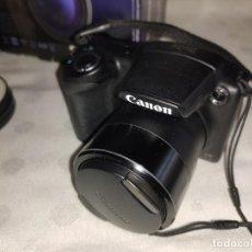 Cámara de fotos: CAMARA FOTOS CANON SX 410 IS - CON FILTROS CARGADOR Y FUNDA - TODO ORIGINAL Y POCO USO. Lote 229104050