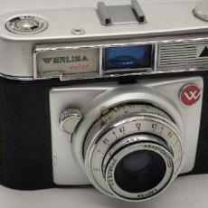 Cámara de fotos: WERLISA COLOR - CÁMARA DE FOTOS FABRICADA EN ESPAÑA POR CERTEX EN LOS AÑOS 60. Lote 229652765