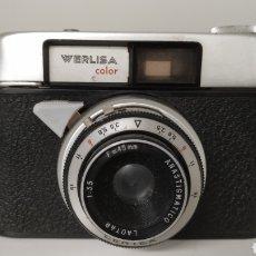 Cámara de fotos: WERLISA COLOR PRIMER MODELO (A) FABRICADO POR CERTEX - AÑO 1963. Lote 229988320