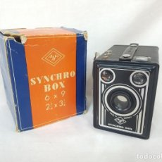 Cámara de fotos: AGFA SYNCHRO BOX. 1951. EXCELENTE ESTADO.. Lote 232715760