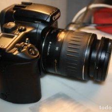 Fotocamere: CANON EOS 30 CUERPO Y OBJETIVO 0,38M/1,3 FT SEGUN FOTOS. Lote 234732555