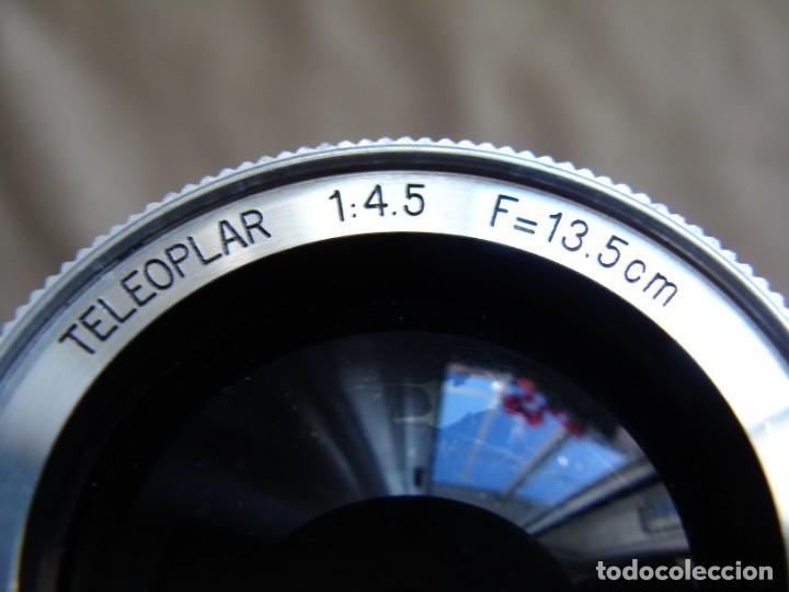 Cámara de fotos: ANTIGUA CAMARA DE FOTOS DE COLECCION, CAMARA FOTOGRAFICA FOCA TELEOPLAR FRANCIA - Foto 10 - 235525130