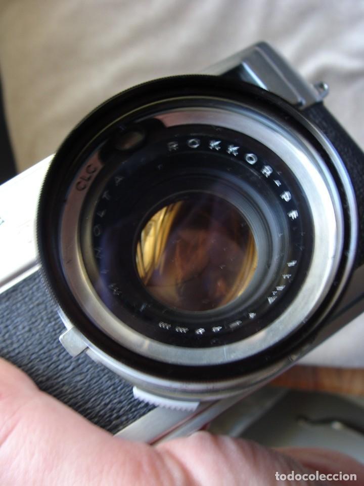 Cámara de fotos: ANTIGUA CAMARA DE FOTOS DE COLECCION, CAMARA FOTOGRAFICA MINOLTA HI MATIC 7S JAPON - Foto 2 - 235525695