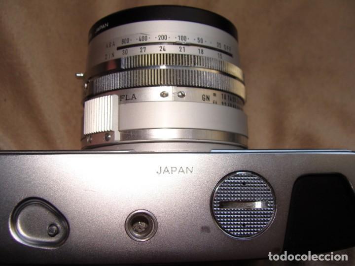 Cámara de fotos: ANTIGUA CAMARA DE FOTOS DE COLECCION, CAMARA FOTOGRAFICA MINOLTA HI MATIC 7S JAPON - Foto 5 - 235525695
