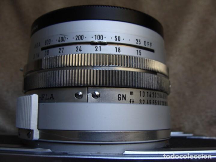 Cámara de fotos: ANTIGUA CAMARA DE FOTOS DE COLECCION, CAMARA FOTOGRAFICA MINOLTA HI MATIC 7S JAPON - Foto 6 - 235525695