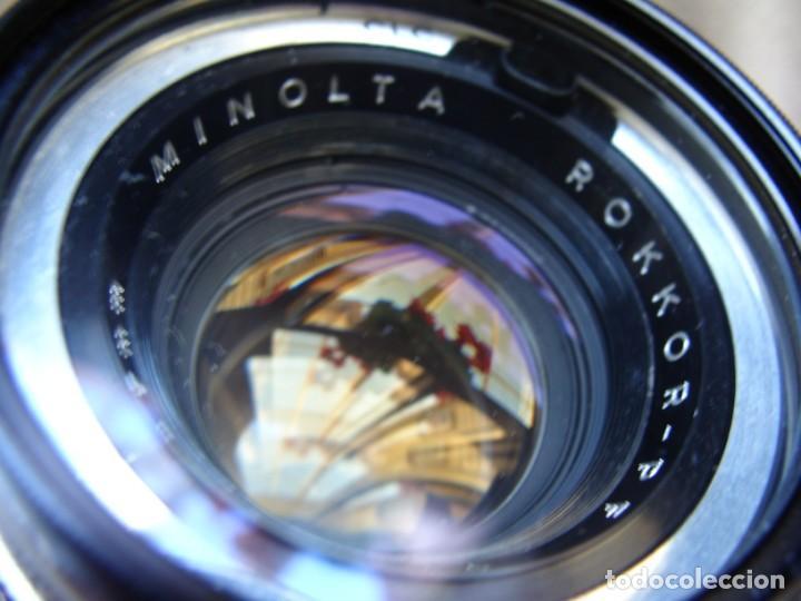 Cámara de fotos: ANTIGUA CAMARA DE FOTOS DE COLECCION, CAMARA FOTOGRAFICA MINOLTA HI MATIC 7S JAPON - Foto 8 - 235525695