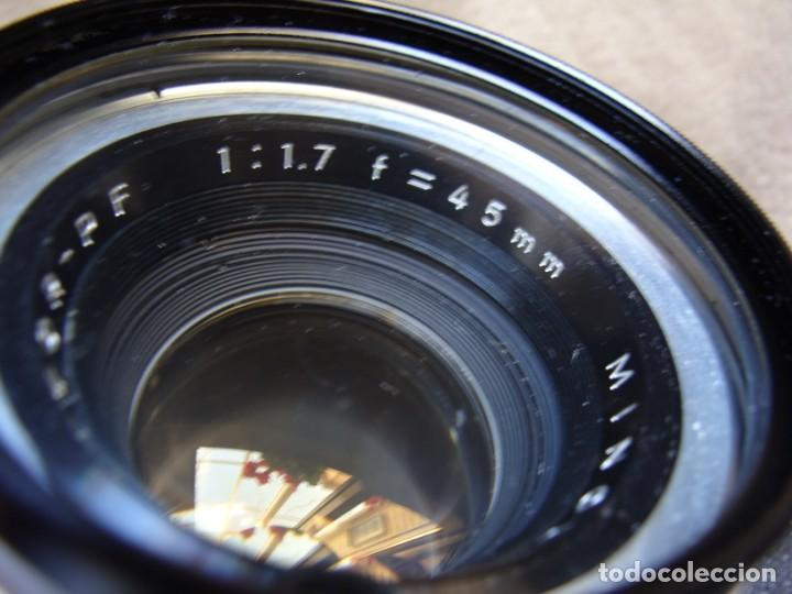 Cámara de fotos: ANTIGUA CAMARA DE FOTOS DE COLECCION, CAMARA FOTOGRAFICA MINOLTA HI MATIC 7S JAPON - Foto 9 - 235525695