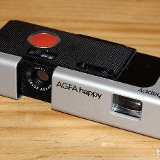 Fotocamere: ANTIGUA CAMARA DE FOTOGRAFIAR AGFA HAPPY - AÑOS 80. Lote 235589915