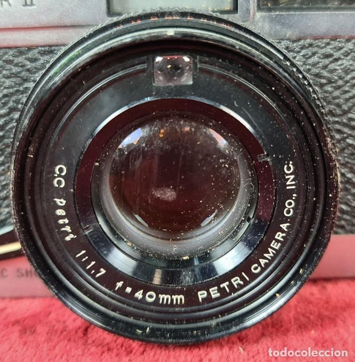 Cámara de fotos: CÁMARA FOTOGRAFICA PETRI COMPUTOR II. 35 MM. TELEMETRICA. JAPÓN. 1972. - Foto 4 - 235933225