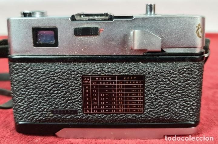 Cámara de fotos: CÁMARA FOTOGRAFICA PETRI COMPUTOR II. 35 MM. TELEMETRICA. JAPÓN. 1972. - Foto 6 - 235933225