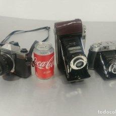 Cámara de fotos: CONJUNTO CÁMARAS FOTOS ANTIGUAS *DECORACIÓN* [CLASSIC CAMERAS]. Lote 236390795