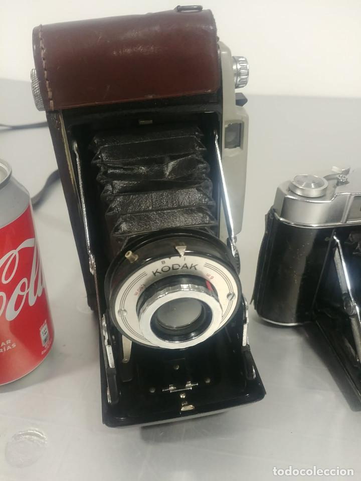 Cámara de fotos: Conjunto cámaras fotos antiguas *decoración* [Classic cameras] - Foto 3 - 236390795