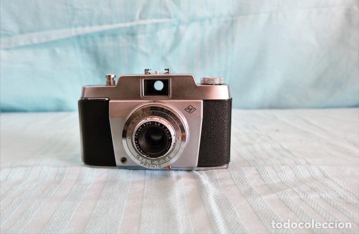 Cámara de fotos: Cámara vintage de la marca Afga Silette Pronto. Vintage Afga Silette Pronto photographic camera. - Foto 11 - 236594240