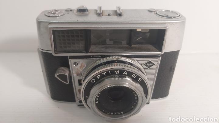 CAMARA DE FOTOS OPTIMA III S DE AGFA (Cámaras Fotográficas - Clásicas (no réflex))