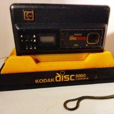 Cámara de fotos: CÁMARA KODAK DISC 8000. AÑO 1984. Lote 239505410