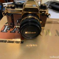 Cámara de fotos: NIKON FA GOLD ED. LIMITADA EN ORO Y PIEL DE SERPIENTE (SIN ESTRENAR). Lote 243466300