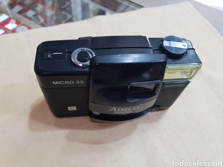 Cámara de fotos: CAMARA ANSCO 2000. MICRO 35 - Foto 2 - 243589510