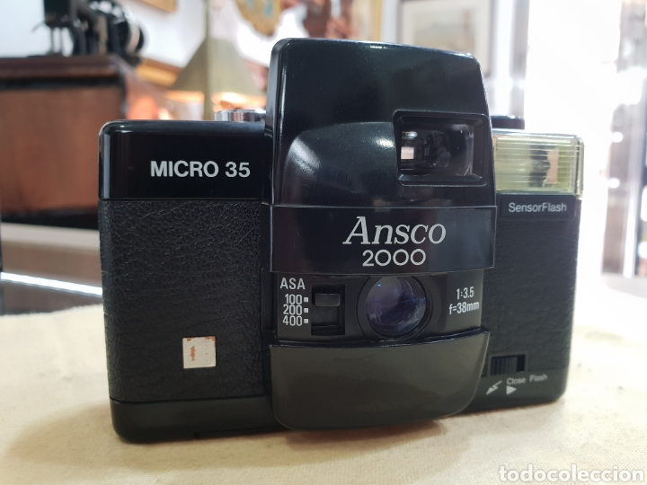 CAMARA ANSCO 2000. MICRO 35 (Cámaras Fotográficas - Clásicas (no réflex))