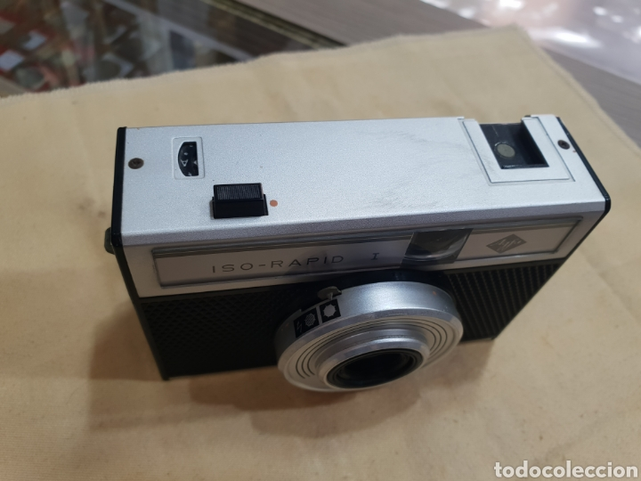 Cámara de fotos: ANTIGUA CAMARA FOTOS AGFA ISO RAPID I - Foto 2 - 243590245