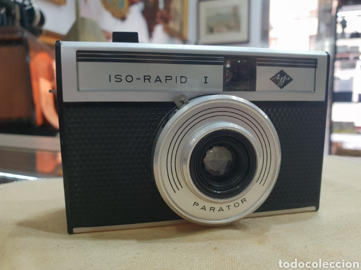 ANTIGUA CAMARA FOTOS AGFA ISO RAPID I (Cámaras Fotográficas - Clásicas (no réflex))