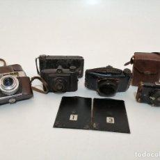 Cámara de fotos: LOTE MAQUINAS, (CAMARAS), DE FOTOGRAFIAR, VARIOS ESTILOS Y EPOCAS. Lote 245557280