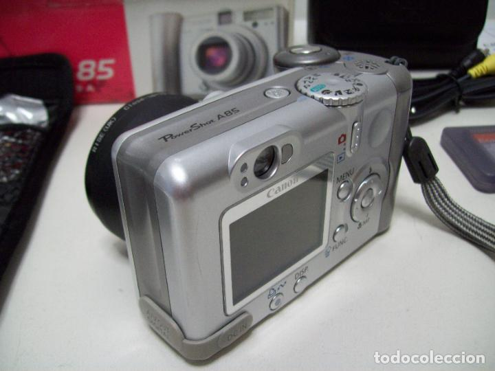 Cámara de fotos: Cámara fotográfica digital CANON PowerShot A85 - Foto 6 - 247628290