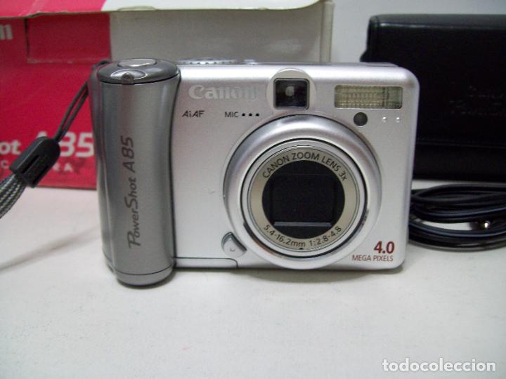 Cámara de fotos: Cámara fotográfica digital CANON PowerShot A85 - Foto 10 - 247628290