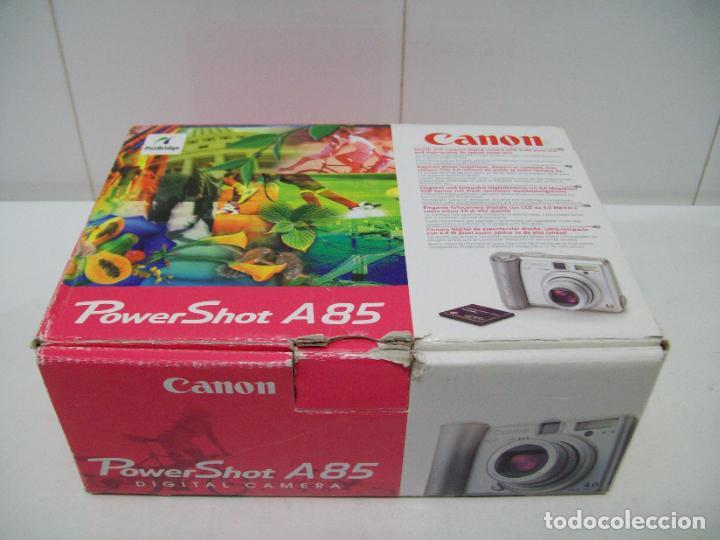 Cámara de fotos: Cámara fotográfica digital CANON PowerShot A85 - Foto 15 - 247628290