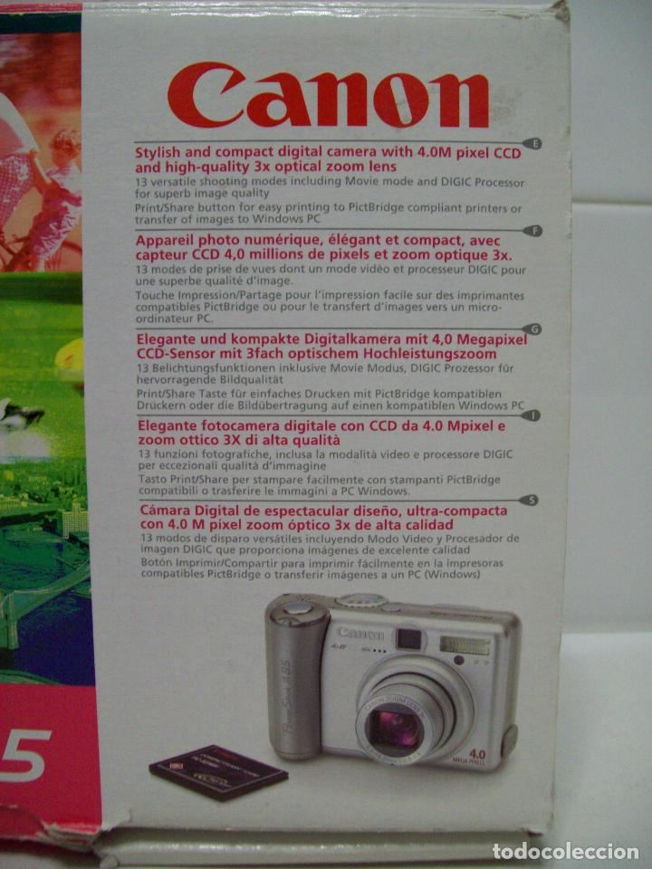 Cámara de fotos: Cámara fotográfica digital CANON PowerShot A85 - Foto 16 - 247628290