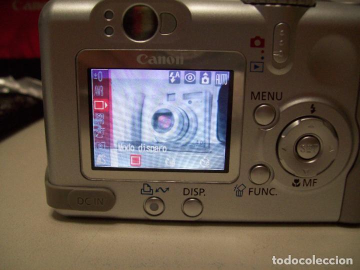 Cámara de fotos: Cámara fotográfica digital CANON PowerShot A85 - Foto 21 - 247628290