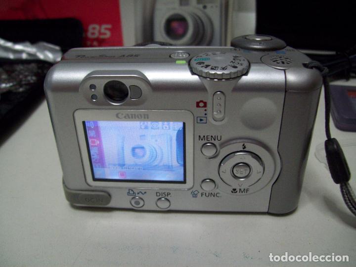 Cámara de fotos: Cámara fotográfica digital CANON PowerShot A85 - Foto 22 - 247628290