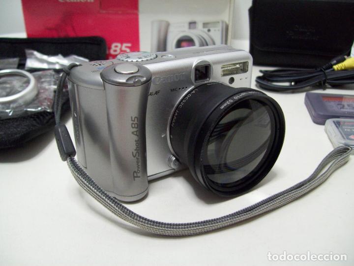 Cámara de fotos: Cámara fotográfica digital CANON PowerShot A85 - Foto 23 - 247628290