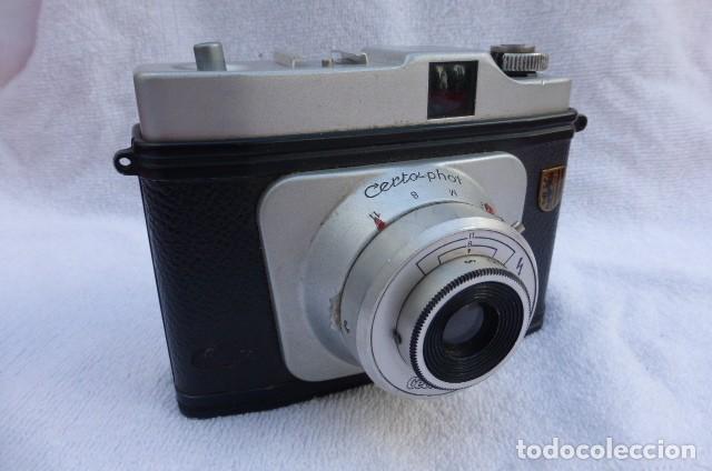 CAMARA CERTO PHOT,FORMATO 120, PARA COLECCION O DECORACION, NO PROBADA..1950-DRESDEN-ALEMANIA. (Cámaras Fotográficas - Clásicas (no réflex))