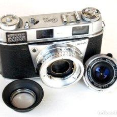 Cámara de fotos: *C1959* ● KODAK RETINA IIIS (TYPE 027) TELEMÉTRICA Y OBJS. CAMBIABLES • SCHNEIDER XENAR F2.8 (FUNDA). Lote 193862798