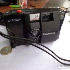 Cámara de fotos: CAMARA VINTAGE PANASONIC C 310 EF CON SUFUNDA COMPLETA Y FUNCIONANDO BUEN ESTADO. Lote 253079640