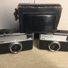 Cámara de fotos: CAMARA KODAK INSTAMATIC 133-X Y CAMARA KODAK INSTAMATIC 133 Y UNA FUNDA. Lote 253224100
