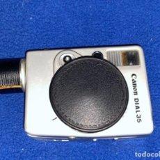 Cámara de fotos: CURIOSA CÁMARA DE FOTOS CANON MODELO DIAL 35 - 28MM - 1:2,8 - CON FUNDA -. Lote 253484995