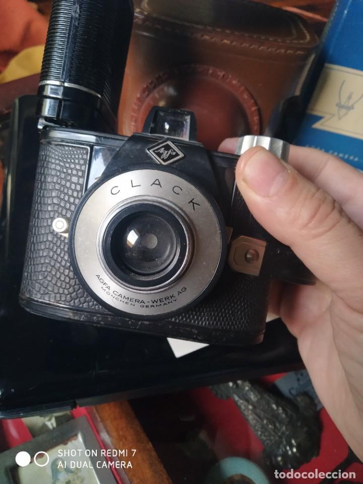 Cámara de fotos: Agfa Clack con su flash y funda - Foto 5 - 253547365