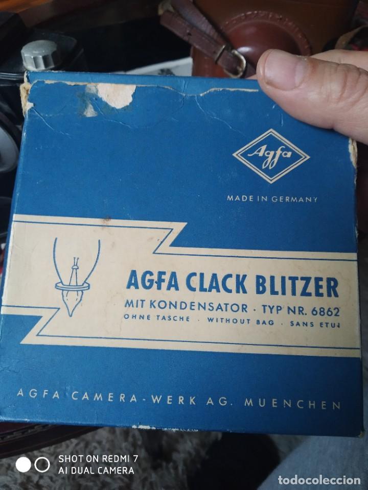 Cámara de fotos: Agfa Clack con su flash y funda - Foto 7 - 253547365