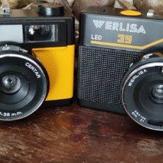 Cámara de fotos: DOS CÁMARAS FOTOGRÁFICAS WERLISA 35 Y CLUB COLOR AMARILLA Y NEGRA HECHAS EN ESPAÑ. Lote 254191390