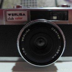 Cámara de fotos: CAMARA DE FOTOS WERLISA CLUB COLOR. Lote 254607660