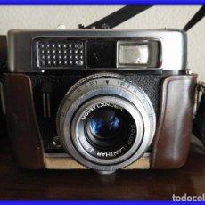 Cámara de fotos: CAMARA DE FOTOS VOIGTLANDER CON FUNDA DE CUERO ORIGINAL. Lote 254754150