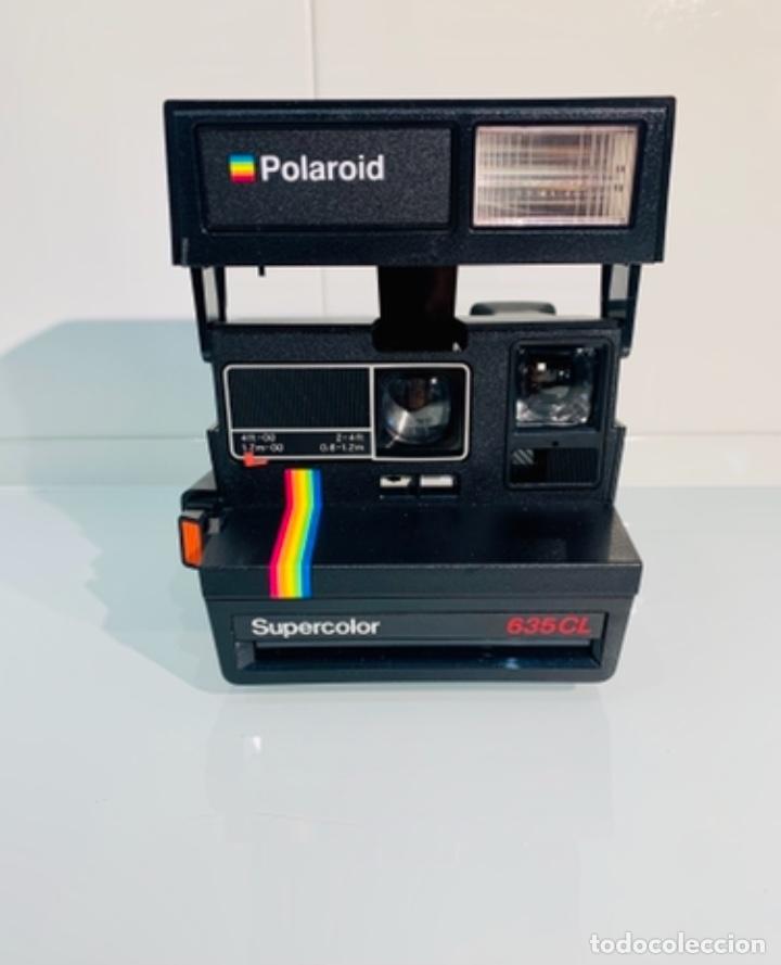 POLAROID SUPERCOLOR 635CL. AÑOS 80. IMPECABLE. (Cámaras Fotográficas - Clásicas (no réflex))