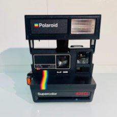 Cámara de fotos: POLAROID SUPERCOLOR 635CL. AÑOS 80. IMPECABLE.. Lote 256059825