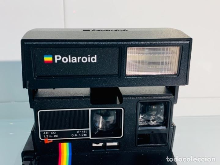 Cámara de fotos: Polaroid Supercolor 635CL. Años 80. Impecable. - Foto 4 - 256059825