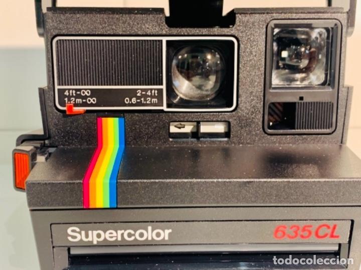 Cámara de fotos: Polaroid Supercolor 635CL. Años 80. Impecable. - Foto 5 - 256059825