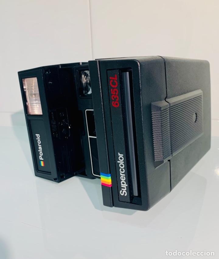 Cámara de fotos: Polaroid Supercolor 635CL. Años 80. Impecable. - Foto 9 - 256059825